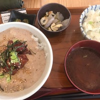 Photo taken at とろろ庵 豆腐工房 by Junji G. on 10/7/2018