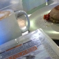 Photo taken at Caffe Adria by Yifen J. on 1/4/2013