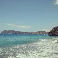 Photo taken at Spiaggia da Peppe by Marco F. on 8/19/2015