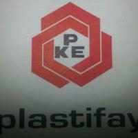 Photo taken at Plastifay by bayram M. on 5/21/2014