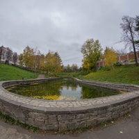 Photo taken at Сквер у Октября by Андрей Р. on 10/8/2014