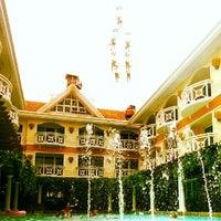 Photo taken at Boracay Mandarin Island Hotel by Brecht D. on 1/7/2014