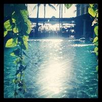Photo taken at Boracay Mandarin Island Hotel by Brecht D. on 1/4/2014