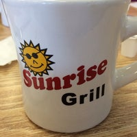 Photo taken at Sunrise Grill by Kevin B. on 10/27/2013