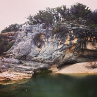 Photo taken at Pedernales Falls State Park by Aaron U. on 1/26/2013