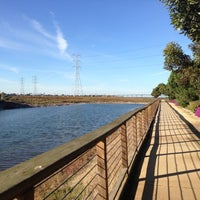 Photo taken at San Francisco Bay Trail - Belmont, Bay & Steinberger Sloughs by Bay Area D. on 11/3/2012