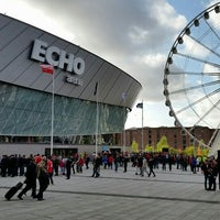 Photo taken at Echo Arena Liverpool by Akmal Hanif M. on 5/18/2016