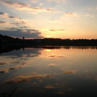 Photo taken at Chestnut Hill Reservoir by Kate M. on 7/15/2013