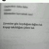 Photo taken at Sistem Erkek Öğrenci Yurdu by Behlül Berk A. on 9/27/2016