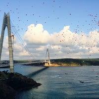 8/26/2016 tarihinde HaküPakdilziyaretçi tarafından Yavuz Sultan Selim Köprüsü'de çekilen fotoğraf