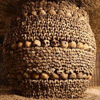 Photo taken at Catacombs of Paris by Jud V. on 7/18/2013