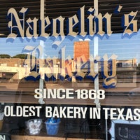 Photo taken at Naegelin's Bakery by Melanie C. on 5/29/2018