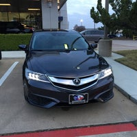 Photo taken at David McDavid Acura Plano by Samuel C. on 3/20/2015
