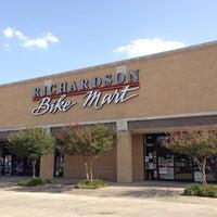 Photo taken at Richardson Bike Mart by Samuel C. on 8/9/2013