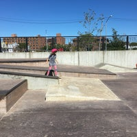 Photo taken at Far Rockaway Skatepark by Tracy L. on 9/25/2016