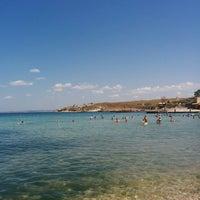 Photo taken at Пляж «Песочный» / Pesochniy Beach by Александр С. on 7/15/2014