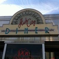 Photo taken at Hub City Diner by Allen D. on 5/1/2013