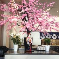 Photo taken at Sushi Bar Rice Garden by Katerina♋ on 6/2/2013