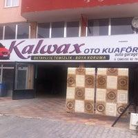 Photo taken at Kalwax Oto & Halı Yıkama by Ali Y. on 11/16/2014