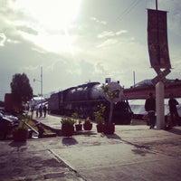 Photo taken at Vieja Estación De Ferrocarril by Ale G. on 7/31/2014