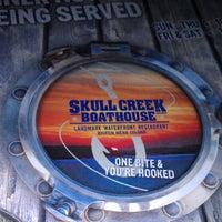 Photo taken at Skull Creek Boathouse by Rj W. on 4/16/2013