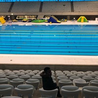 Photo taken at Better London Aquatics Centre by Derryck B. on 1/14/2018