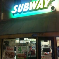 Photo taken at SUBWAY by Jeff S. on 10/23/2013