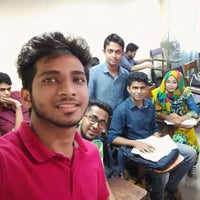 Photo taken at East West University Library by Nafees K. on 8/11/2015