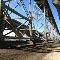 "Photo taken at Huey P. Long Bridge by G ""Blackie"" B. on 11/28/2012"