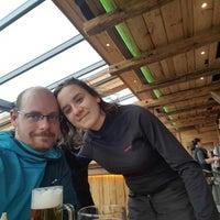 Photo taken at lena alm terras by Balázs I. on 1/5/2018