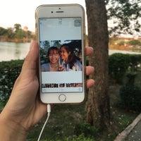 Photo taken at ริมบึงเมืองทอง by Zani on 2/27/2016