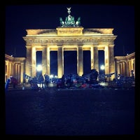 Photo taken at Pariser Platz by Lennart P. on 11/27/2012