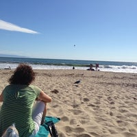 Photo taken at Harbor Beach by Pam A. on 10/6/2012