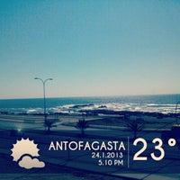 Photo taken at Playa Trocadero by Fe Bo N. on 1/24/2013