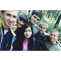 Photo taken at Турслет Лицея #2 by L R S on 9/12/2014