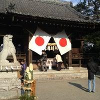 Photo taken at 有玉神社 by 赤尾 晃. on 1/1/2014