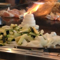 Photo taken at Makoto's Japanese Steak House & Sushi Bar by Sharon E. on 6/8/2013