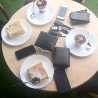Photo taken at Cofetăria Dana by Cris T. on 5/31/2014