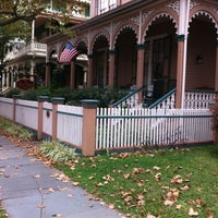 Photo taken at Mason Cottage Cape May Bed & Breakfast by Ken M. on 10/8/2012