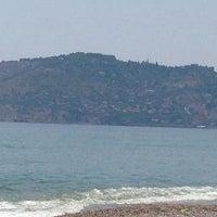 Photo taken at Deniz Kum Güneş by Cemre ❤. on 6/19/2014