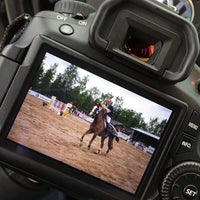 Photo taken at Salo Horse Show by Emma M. on 6/27/2015