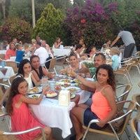 Photo taken at Golden Beach Restaurant by Aylin Ş. on 8/5/2015