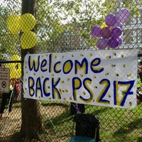 Photo taken at Roosevelt Island Public School 217 by Larry K. on 10/24/2013