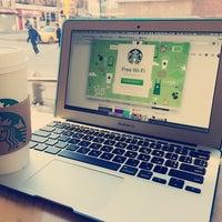 Photo taken at Starbucks by Oksana H. on 2/16/2015