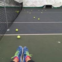 Das Foto wurde bei Теннисный корт Кадет von Alina am 9/6/2015 aufgenommen