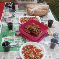 Photo taken at Amasya Kalesi piknik Alanı by Zeynep on 6/10/2015