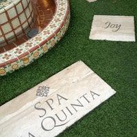 Photo taken at Spa La Quinta by Julie C. on 11/17/2012