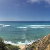 Photo taken at Diamond Head Scenic Point by Esben Theis J. on 4/30/2017