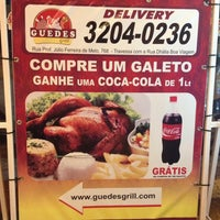 Photo taken at Guedes Grill Delivery by Paulo G. on 9/28/2013