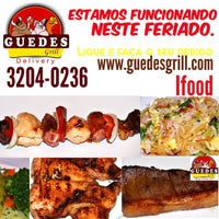 Photo taken at Guedes Grill Delivery by Paulo G. on 4/21/2015